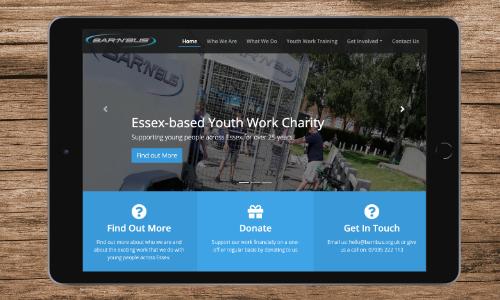Bar'N'Bus Website