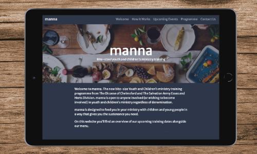 manna - Training Programme Website